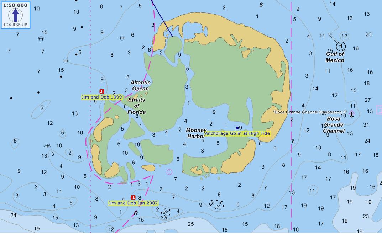 Jim Faughn's Anchorages and Dinghy Docks in the Florida Keys on geiger key map, plantation key map, ramrod key map, john pennekamp coral reef state park map, cudjoe key map, grassy key map, big coppitt key map, north key largo map, sunset key map, sand key map, long key map, pigeon key map, no name key map, upper matecumbe key map, boca chita key map, sugarloaf key map, saddlebunch keys map, conch key map, rockland key map, summerland key map,